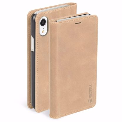 Picture of Krusell Krusell Sunne 4 Card Folio Case for Apple iPhone XR in Nude