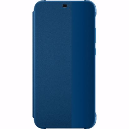 Picture of Huawei Huawei Flip Cover Case for Huawei P20 Lite in Blue