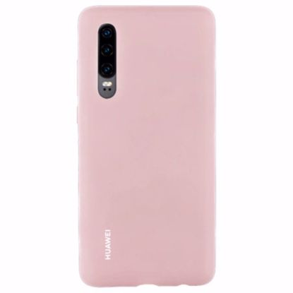Picture of Huawei Huawei Silicone Protective Cover Case for Huawei P30 in Pink