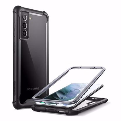 Picture of i-Blason i-Blason Ares Full Body Case with Screen Protector for Samsung Galaxy S21 in Black